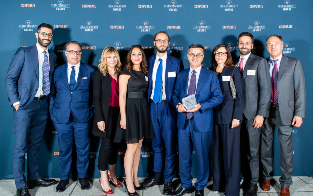 Legalcommunity Corporate Awards 2019 – GPB Studio dell'anno Contenzioso