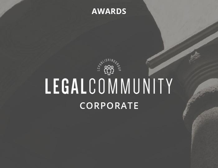 Legalcommunity Corporate Awards 2020 – Premiati Carlo Pavesi e Valentina Canalini